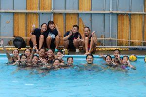 東京オリンピック水球日本代表・志水選手が本校水球部を来訪