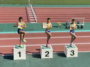 陸上部 神奈川県高等学校新人陸上競技大会女子総合5位入賞